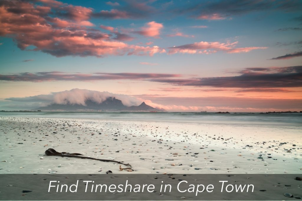 find timeshare in cape town