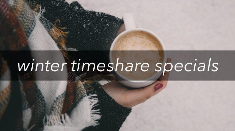 winter timeshare specials